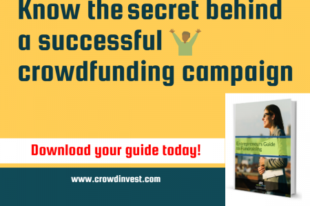 The secret behind success of crowdfunding  Infographic