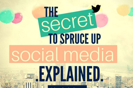 The Secret To Spruce-up Social Media Infographic