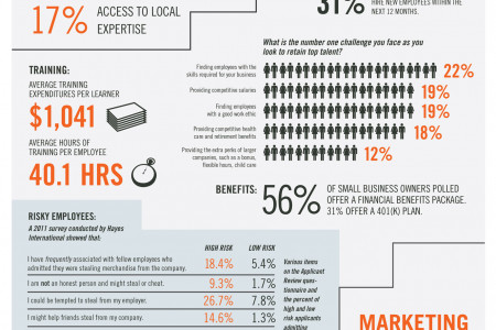 The Small Business Landscape Infographic