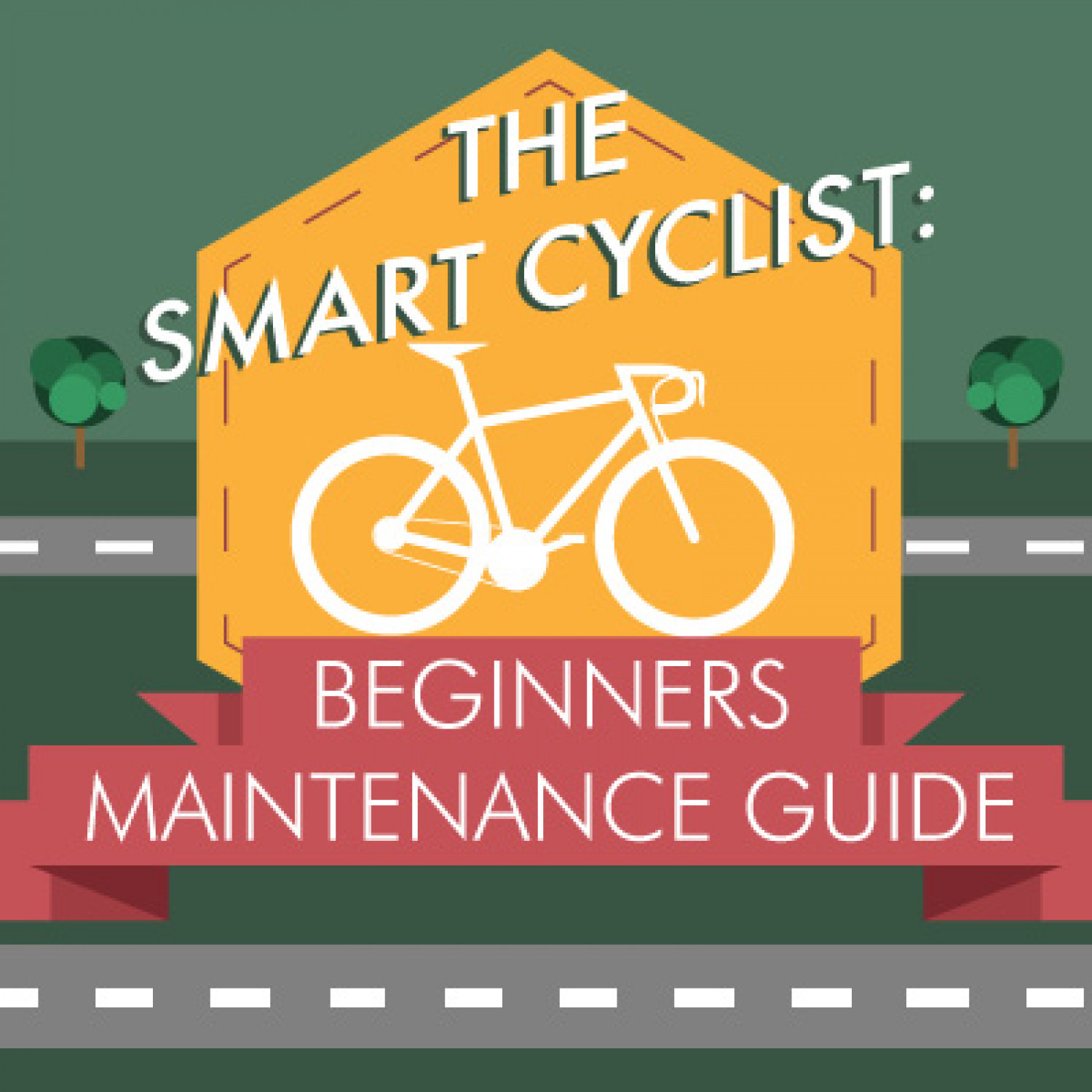 The Smart Cyclist: Beginner's Guide to Cycle Maintenance Infographic