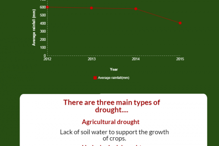 The South African Drought....what's it all about?  Infographic