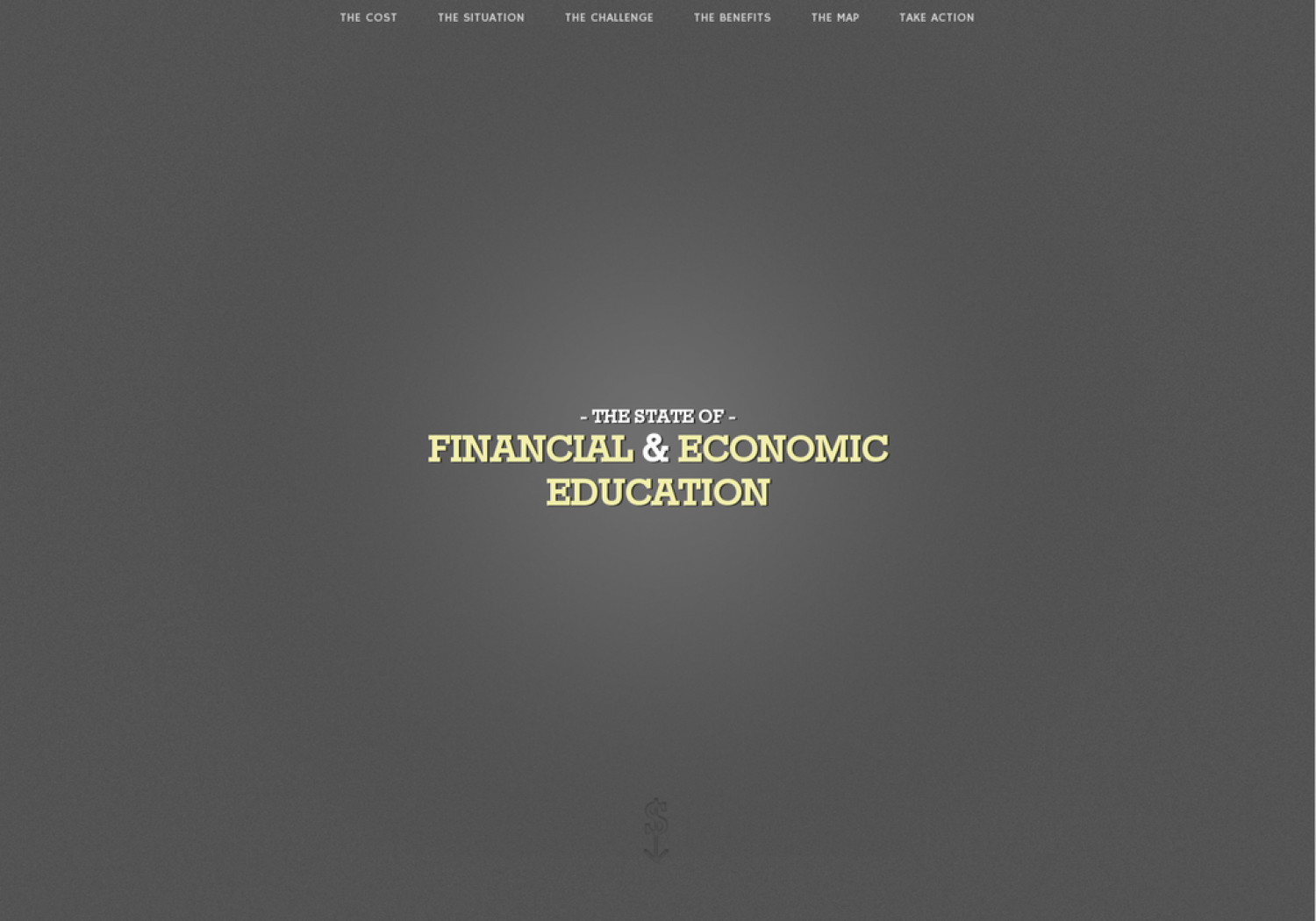 The United States Of Financial & Economic Literacy Infographic