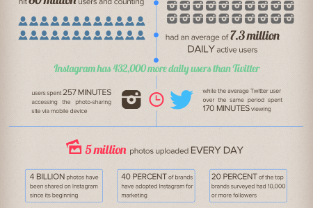 The State of Instagram Infographic