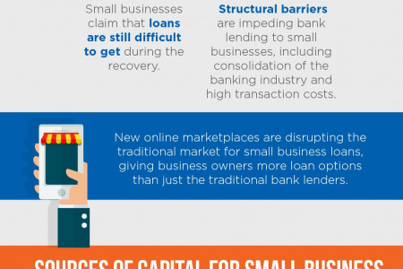 The State of Small Business Lending Infographic