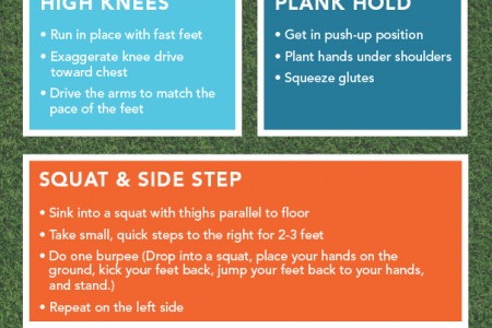 The Super Bowl-Inspired Bodyweight Workout You Can Do During Halftime Infographic