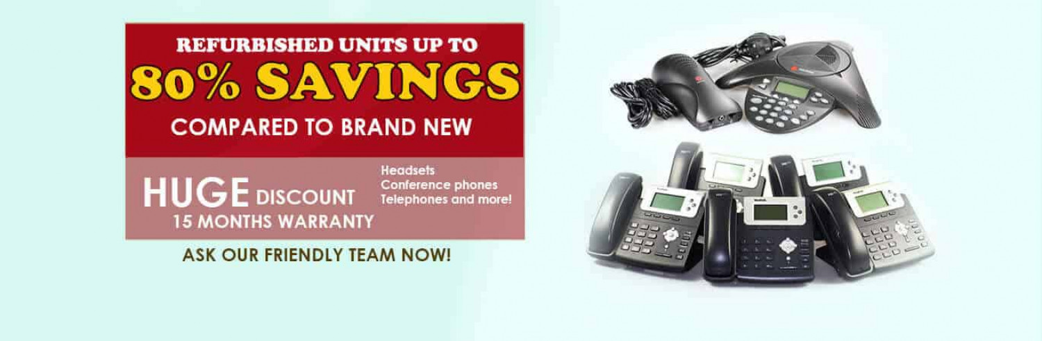 The Telecom Shop Offers Huge Discounts on Telephone Systems Infographic