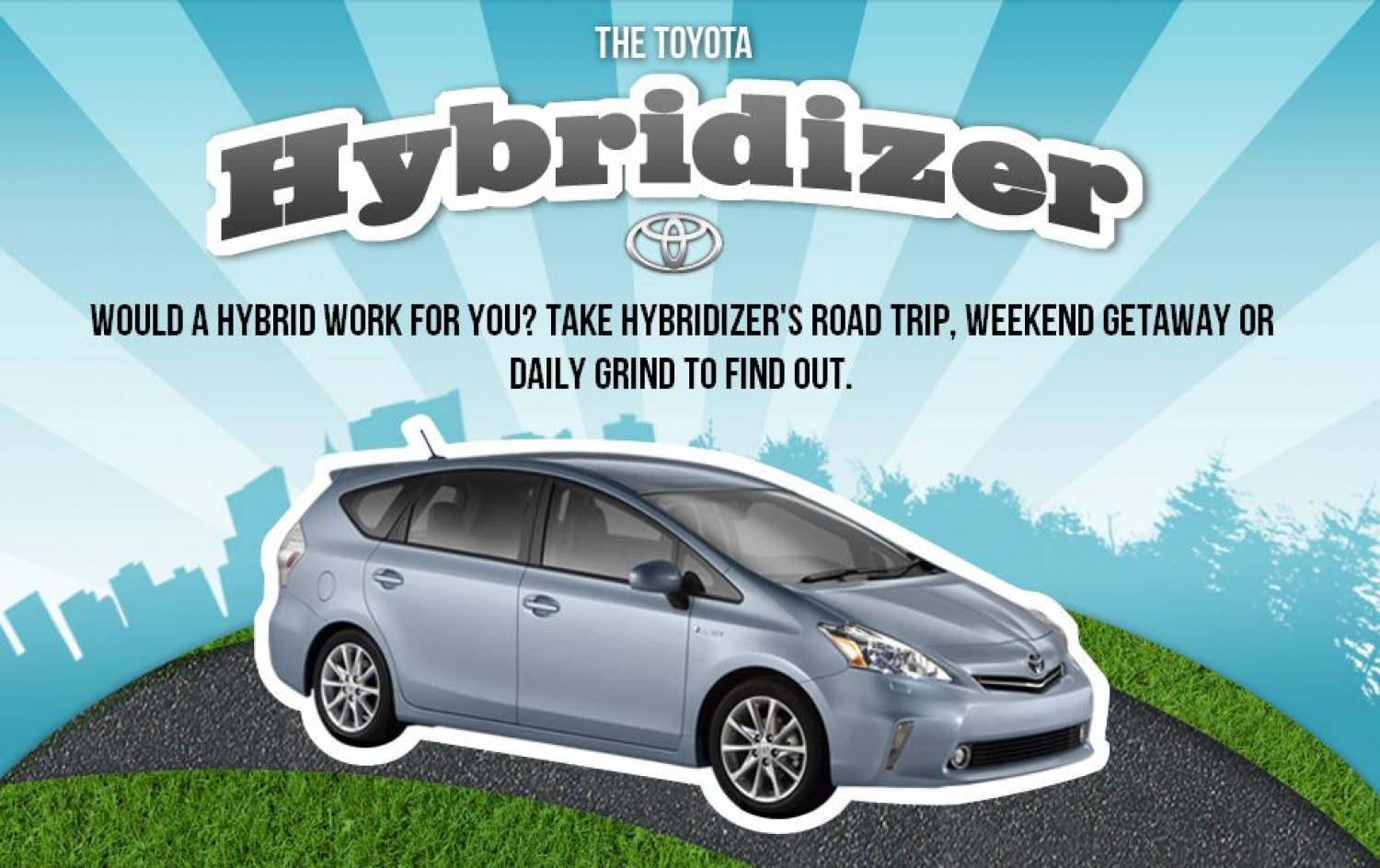 The Toyota Hybridizer Infographic