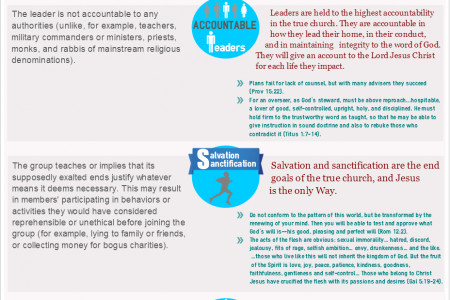 The True Church Checklist Infographic