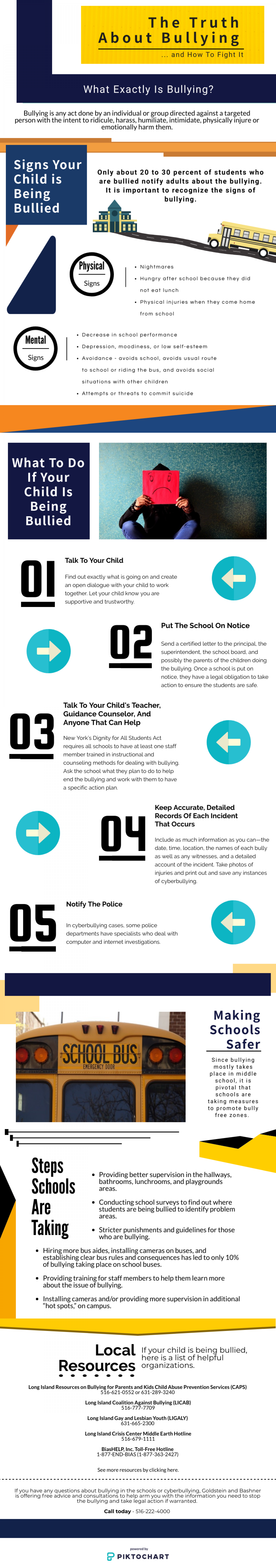 The Truth about Bullying and how to Fight it Infographic