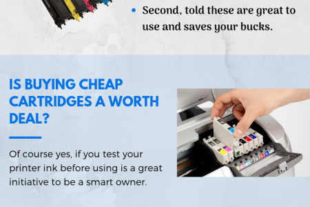 The Truth About Cheap Printer Cartridges Infographic