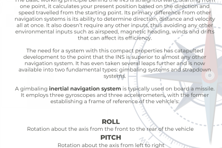 The Two Fundamental Types of Inertial Navigation Systems Infographic