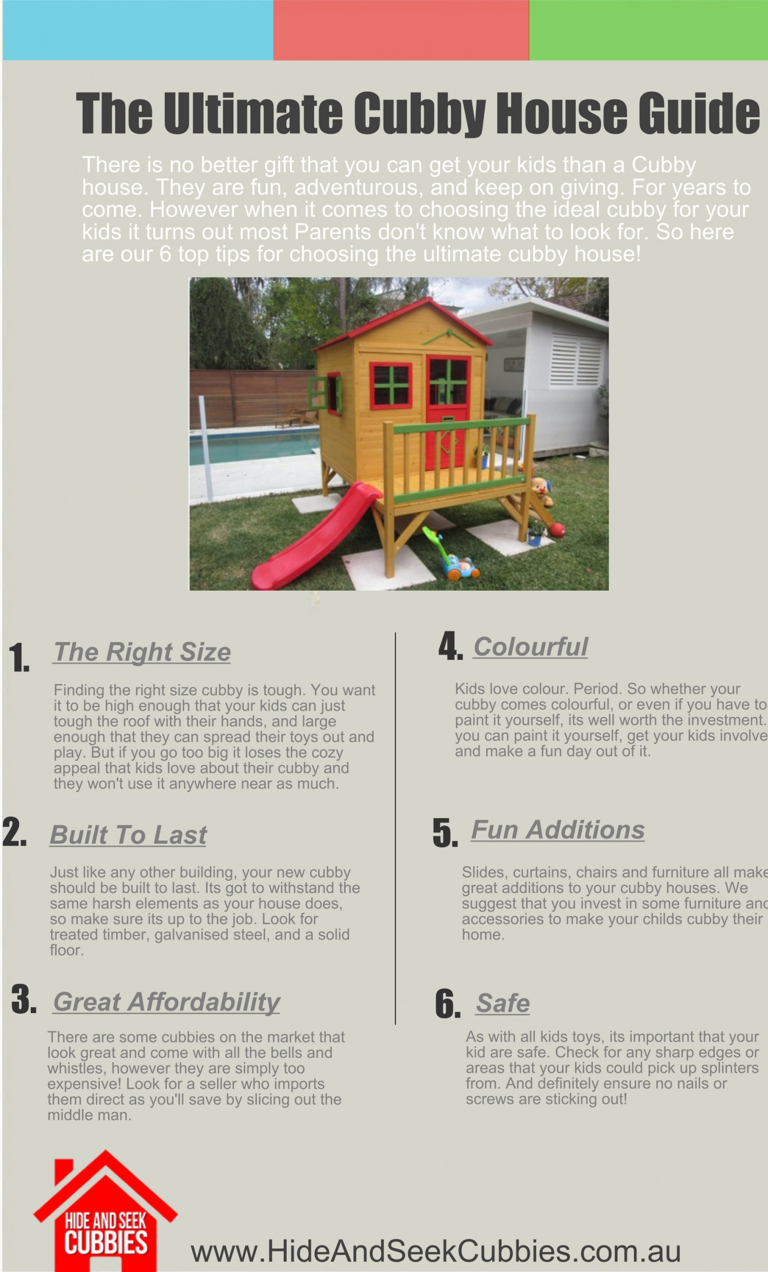 The Ultimate Cubby House Buyers Guide Infographic