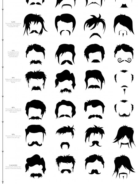 The Ultimate Guide to The Moustache Infographic