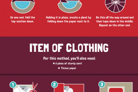 The Ultimate Guide to Wrapping Presents Infographic