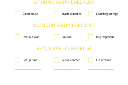 The Ultimate Party Planning Checklist Infographic