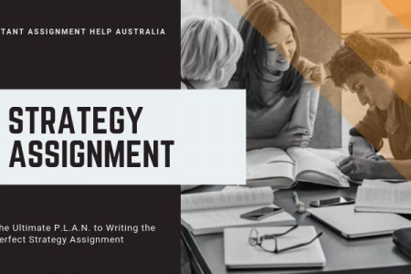 The Ultimate P.L.A.N. to Writing the Perfect Strategy Assignment Infographic