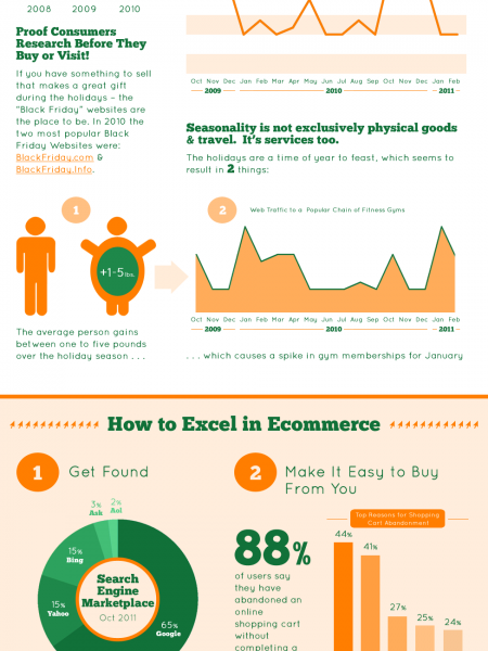 The Unstoppable Ecommerce Wave Infographic