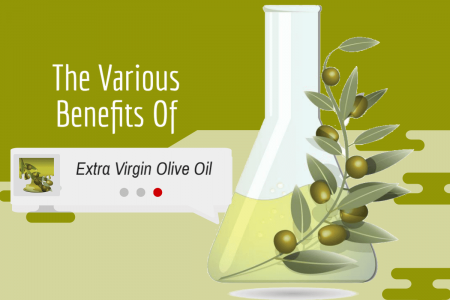 The Various Benefits of Extra Virgin Olive Oil Infographic