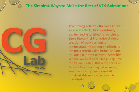 The Visual Effects Company | The CG Lab Infographic