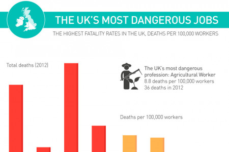 The World's Most Dangerous Careers Infographic