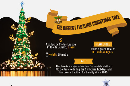 The World's Most Famous Christmas Trees - Infographic Infographic