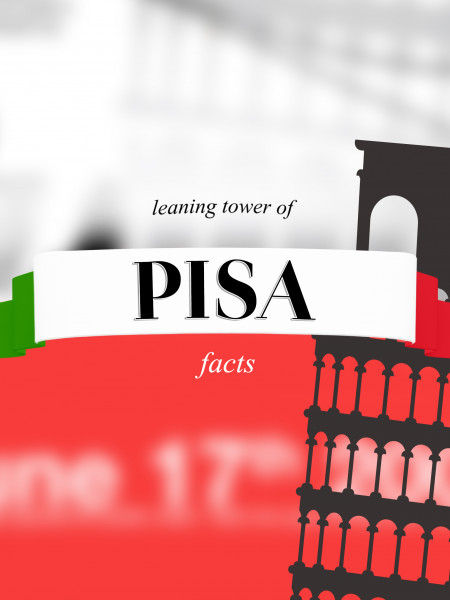 the Leaning Tower of Pisa facts Infographic
