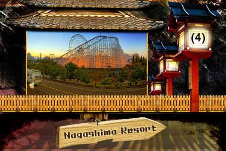 Theme Parks in Japan Infographic
