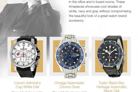 These Brands Have the Perfect Summer Watch for Your Next Party Infographic