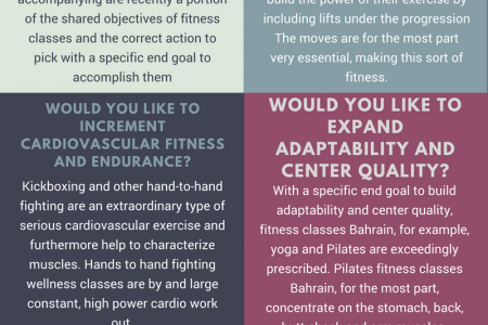 These Thinks About Before Enrolling A Fitness Classes [Infographic] Infographic