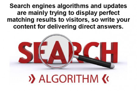 Things for Writing Content Based on SEO Factors Infographic