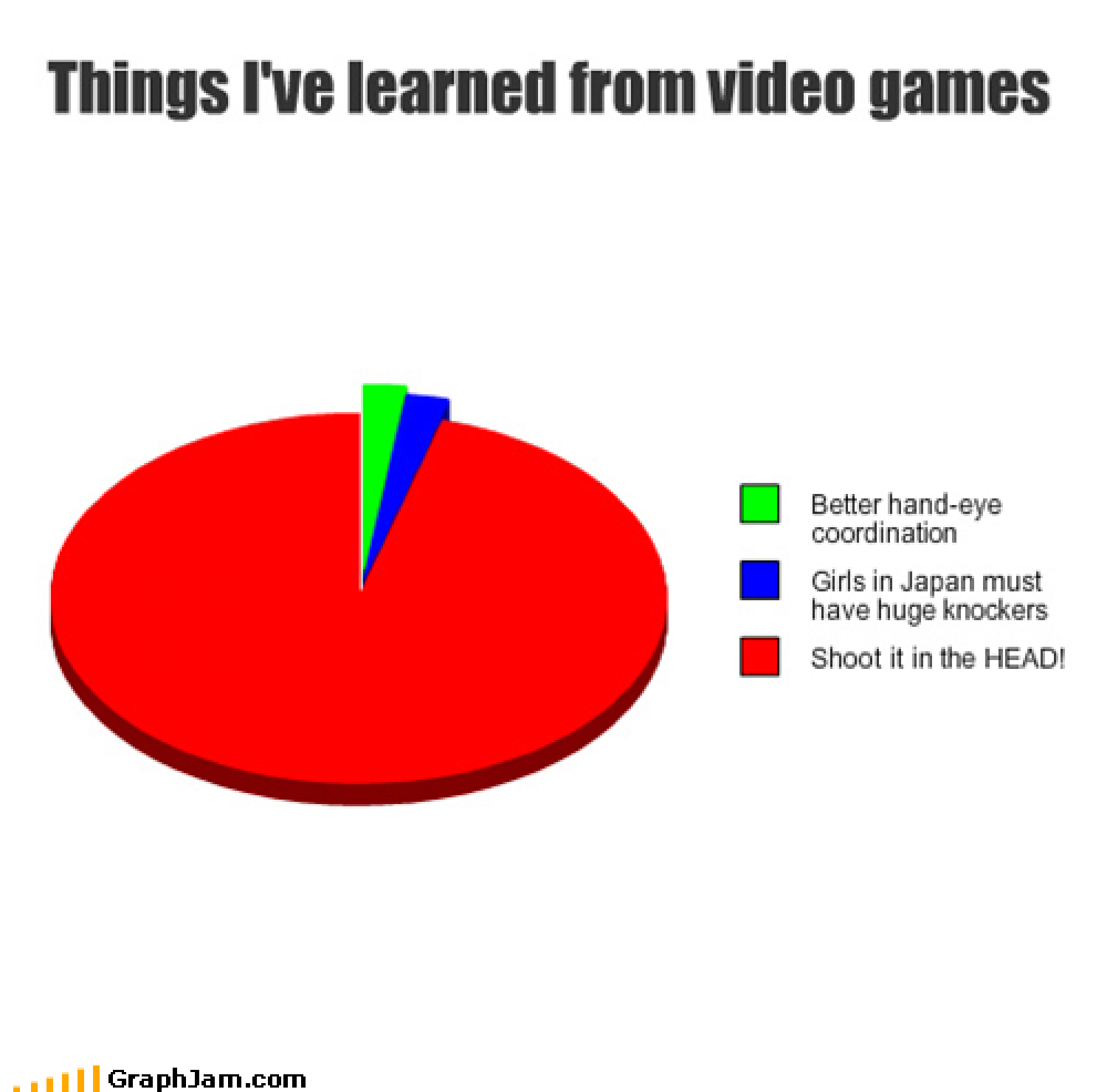Things I've Learned from Video Games Infographic