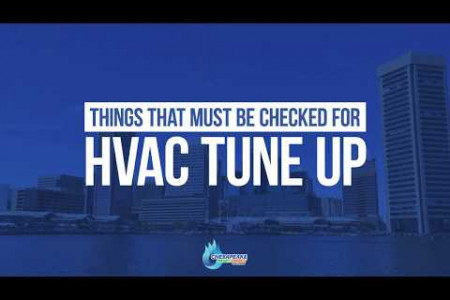Things That Must be Checked for HVAC Tune Up Infographic