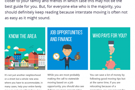 Things to Consider before Moving Out of State Infographic