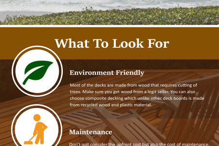 THINGS TO CONSIDER WHEN CHOOSING DECKING BOARDS Infographic