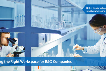 Things to Consider When Finding the Right Workspace for R&D Companies Infographic