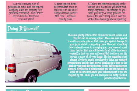 Things to Consider When Hiring a Removals Company Infographic