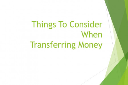 Things to consider when transferring money Infographic
