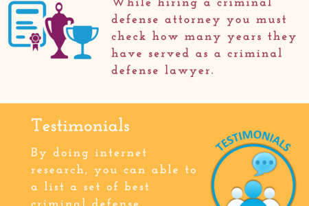 Things to Consider While Hiring the Criminal Defense Lawyer Infographic