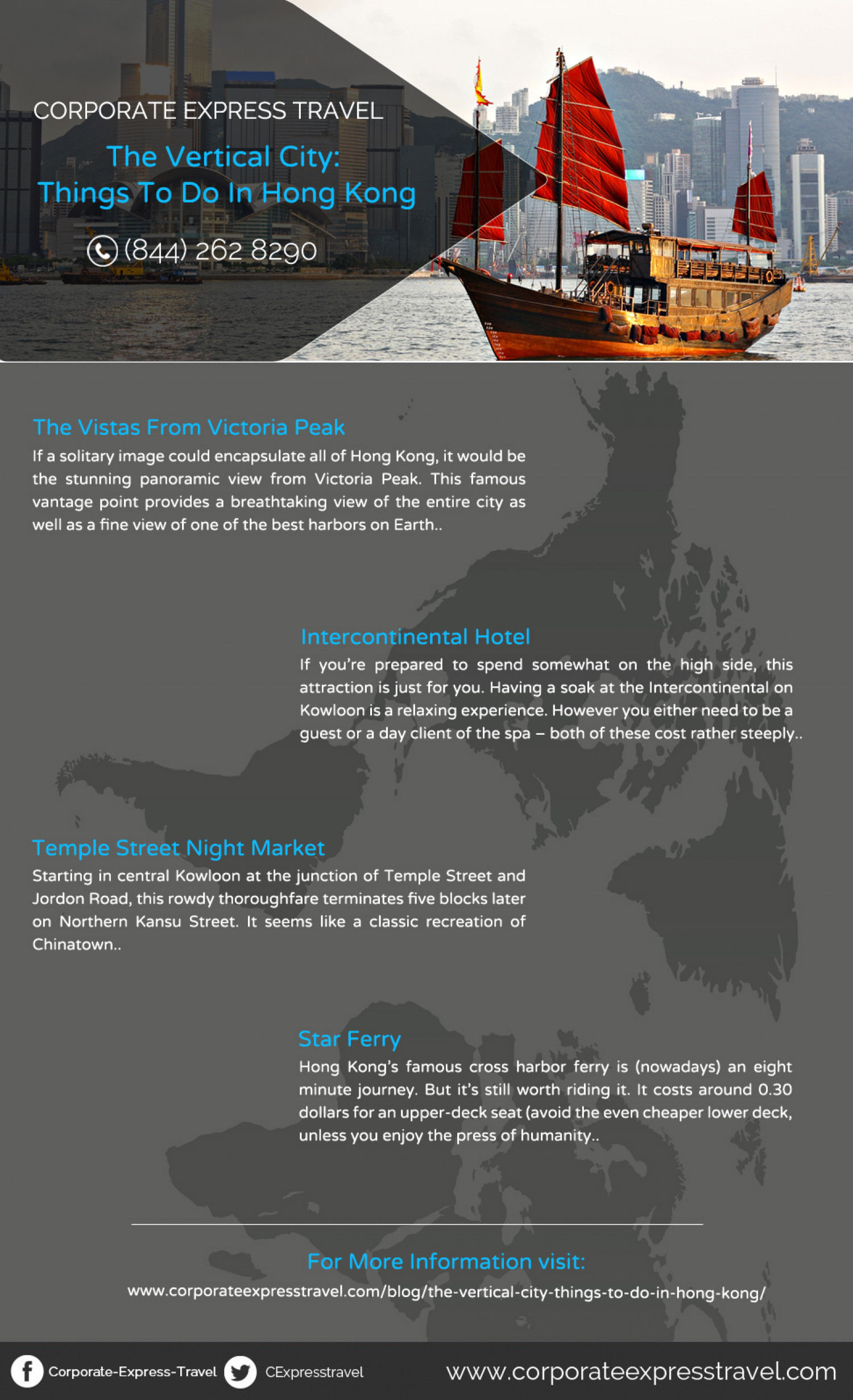 Things to Do in Hong Kong Infographic