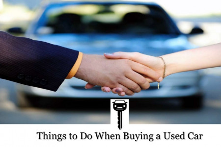 Things to Do When Buying a Used Car Infographic