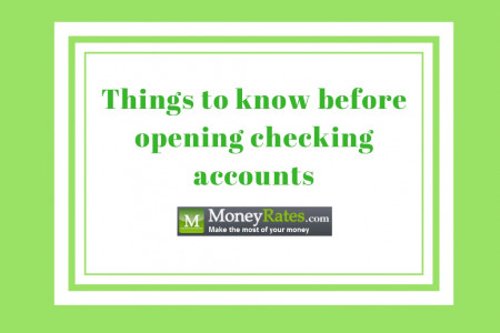 Things to know before opening checking accounts  Infographic