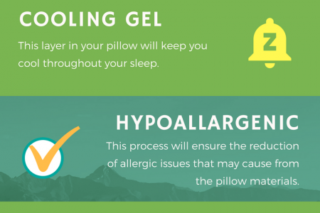 Things To Look For When Purchasing A Memory Foam PIllows Infographic