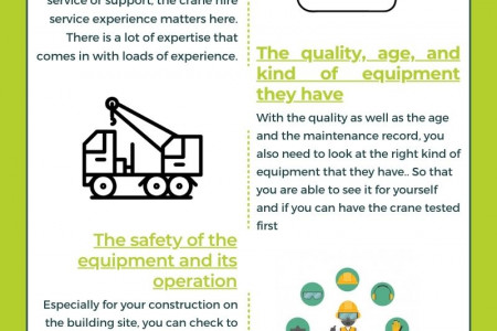 THINGS YOU SHOULD BE LOOKING INTO THE SELF-ERECTING CRANE HIRE COMPANY Infographic