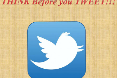 Think before you Tweet Infographic