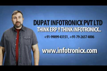 Think ERP !! Think Infotronicx.. Infographic