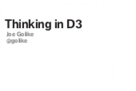 Thinking in D3 Infographic