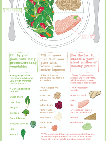 This is How Your Plate Should Look Infographic