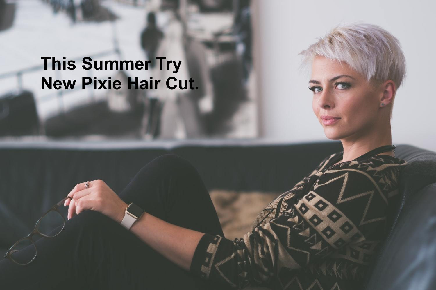 This Summer Try New Pixie Hair Cut. Infographic