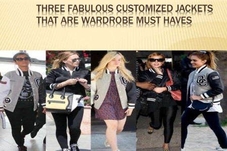Three Fabulous Customized Jackets That Are Wardrobe Must Haves Infographic