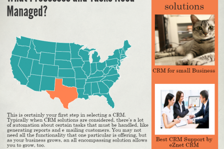 Three Questions to Ask Before Choosing a CRM Infographic